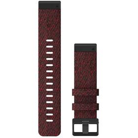 Garmin QuickFit Nylon Uhrenband 22mm für Fenix 6 rot